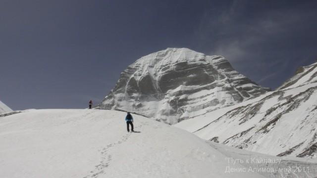 Северное лицо Кайлаша - подъем по леднику