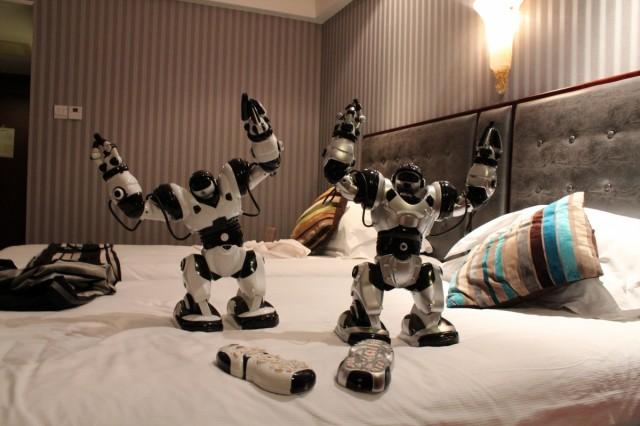 Роботы, купленные на том же рынке