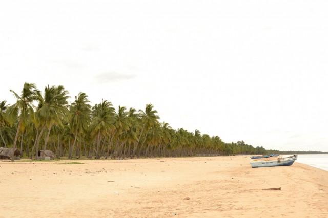 Вид в сторону начала пляжа Калькуды