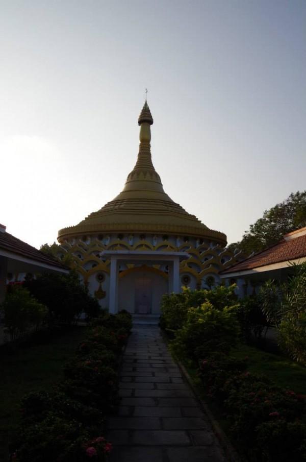 Пагода с индивидуальными кельями