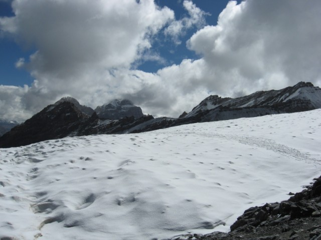 Тропа на снегу