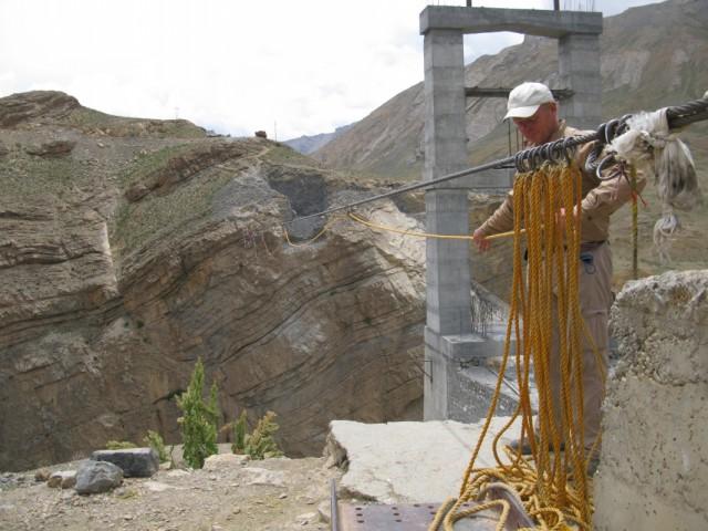 Работа с верёвкой