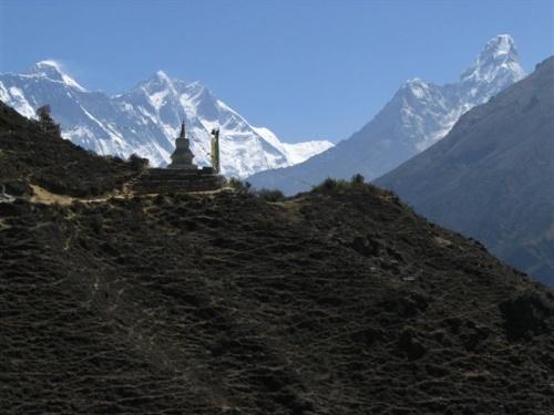 Пейзажи Непала (01) от Фло Крусчел (США, работает в Катманду 8 лет)