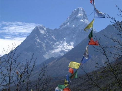 Буддистские флажки. Непал от Фло Крусчел (США)