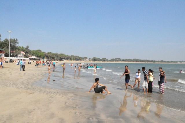 лучший пляж Диу, Nagoa