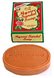 cандаловое мыло