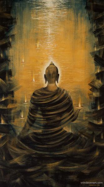 Будда. Океан нирваны. работа Вриндавана Даса