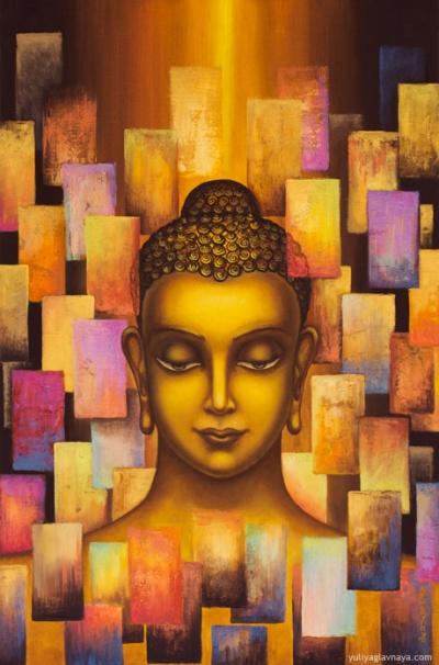 Будда. Радужное тело.работа Юлии Главной