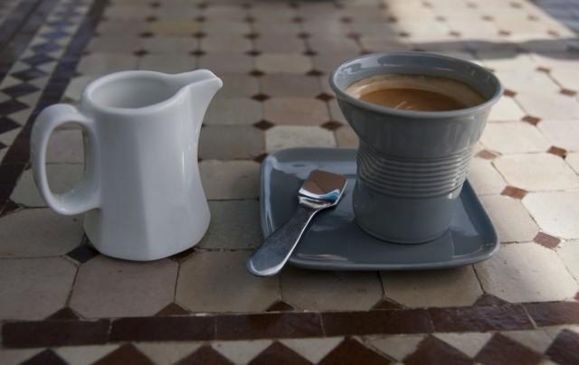 чудная чашечка для кофе)