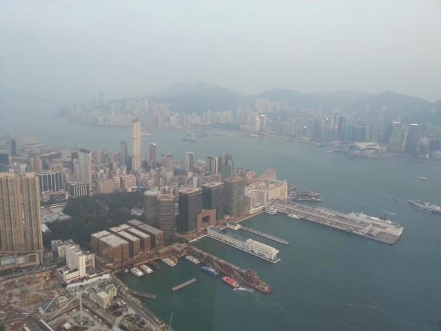 Kowloon с 400 метров