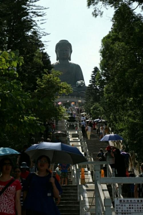 Будда снизу