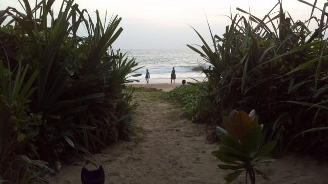 тот самый отдельный выход на пляж
