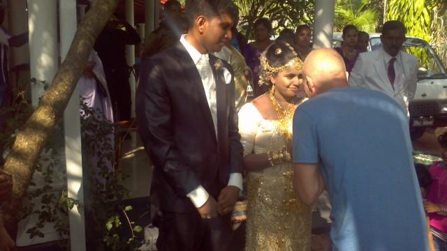 свадьба и череп товарища