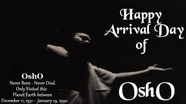 Jai Osho!
