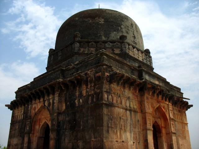 Афганская архитектура в Манду, Индия.