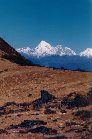 Горы, они и в Бутане - горы