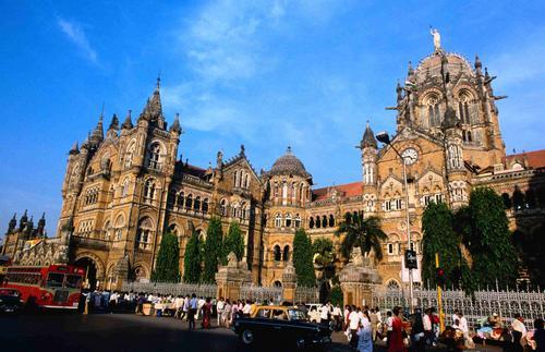 Victoria Terminus - вокзал в Мумбае