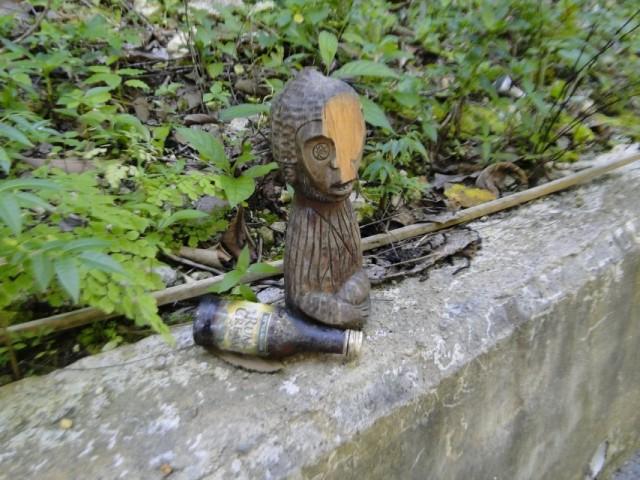 потерявшая лицо обезьянка с ромом