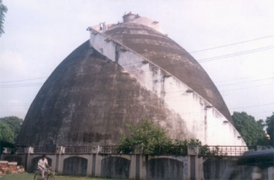 Зернохранилище в Патне, Бихар, Индия