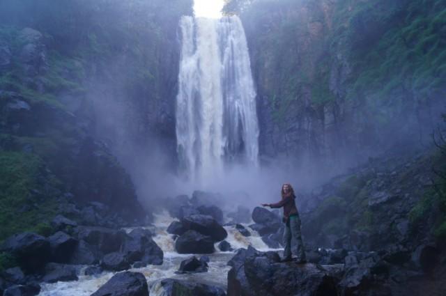 Водопад Няхуруру