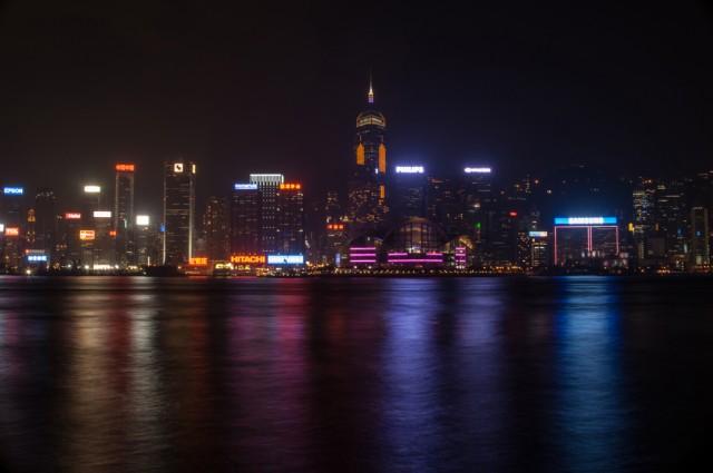 и еще ночной Гонконг
