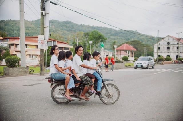 Мотоциклы- основной способ передвижения на острове
