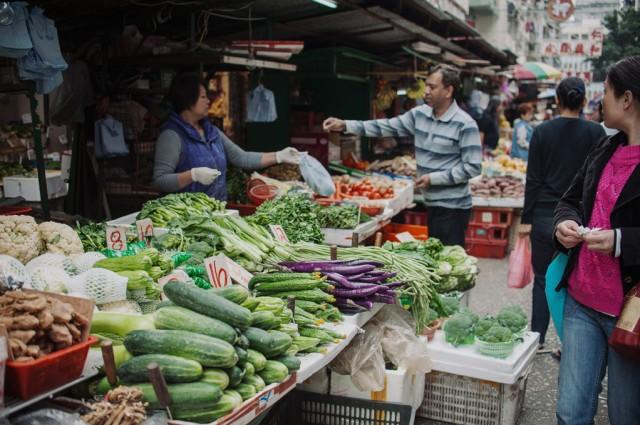 Овощи, они и в Гонконге овощи...