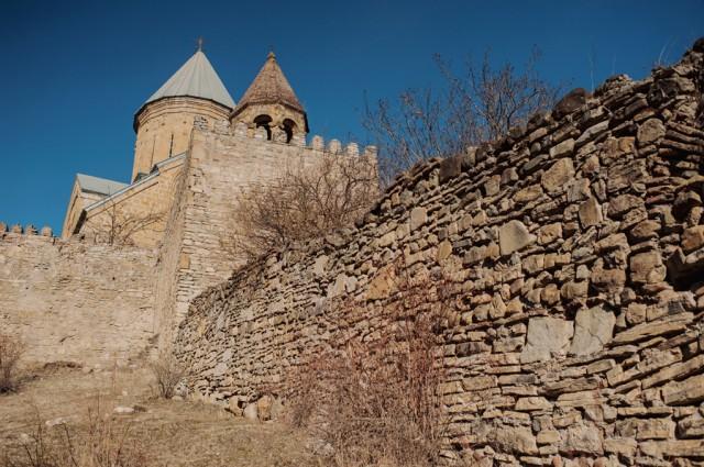 крепость Ананури