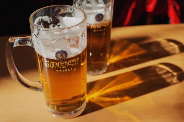Очень вкусное грузинское пиво