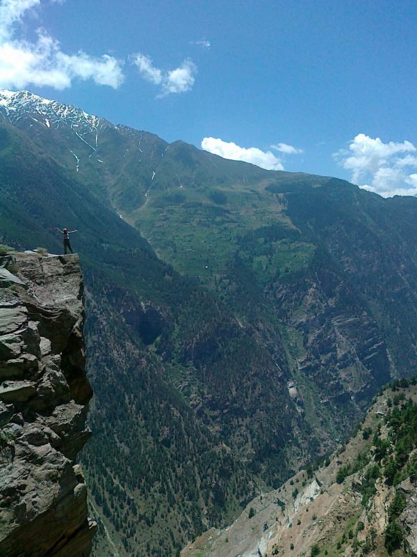 Дорога над Kalpa 3000м