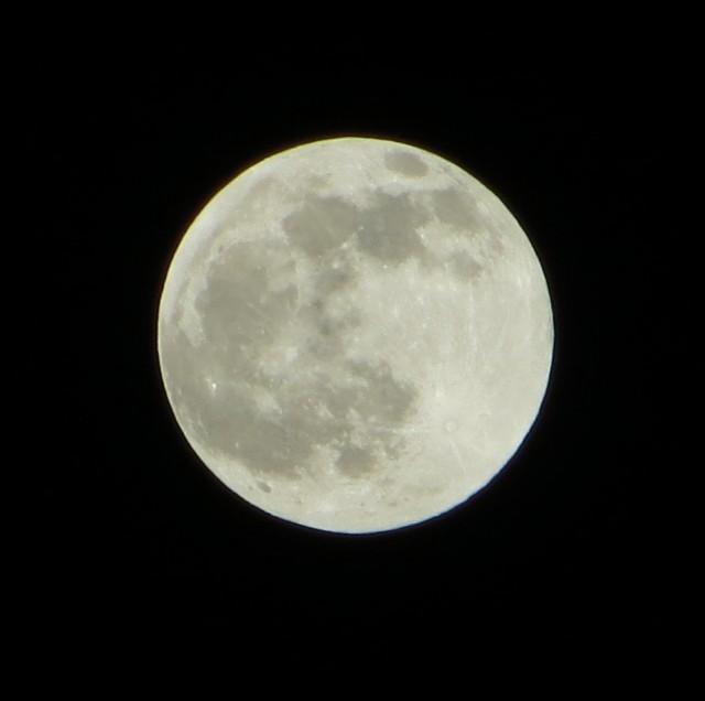 Луна в Гималаях