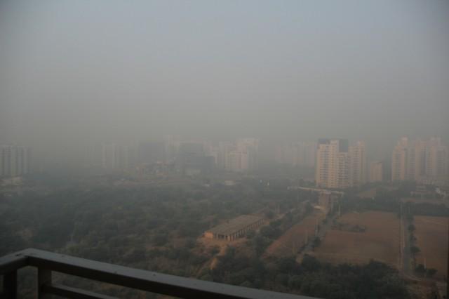 Частый зимний вид из нашего окна 21 этаж