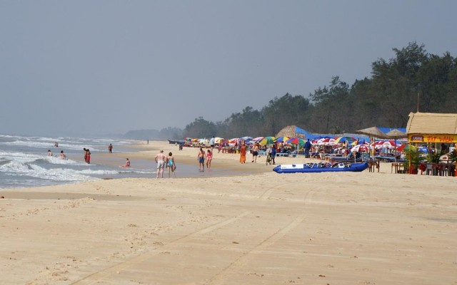 Пляж Cavelossim