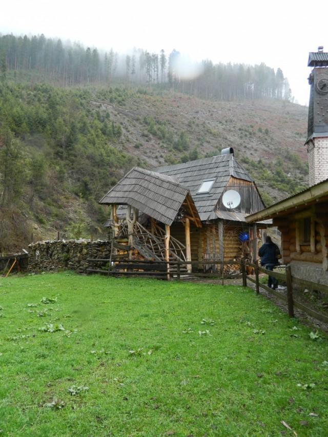 домик где мы ночевали