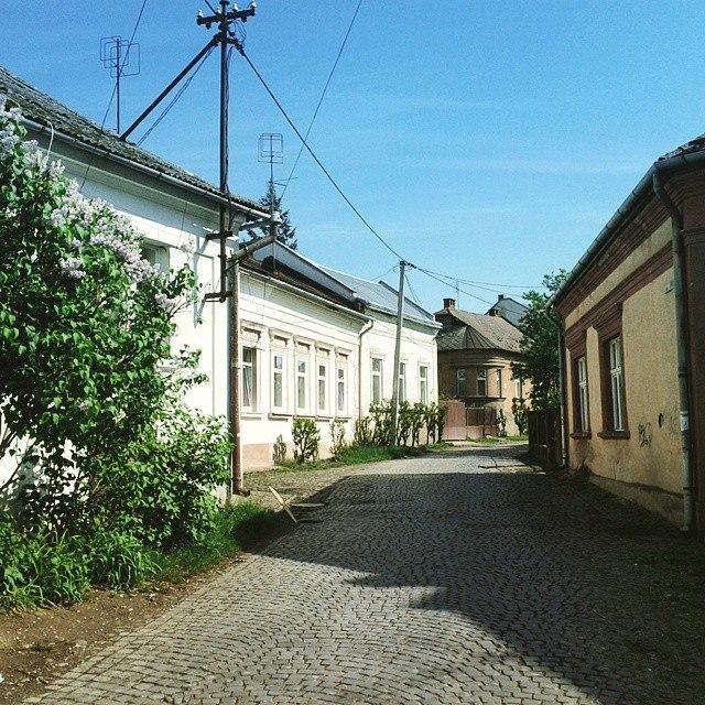 ужгородские улочки