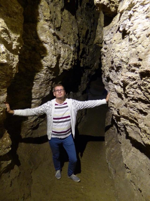 Пещера Хрустальная в Кривче