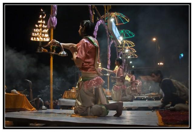 Варанаси, Ganga Maha Aarti