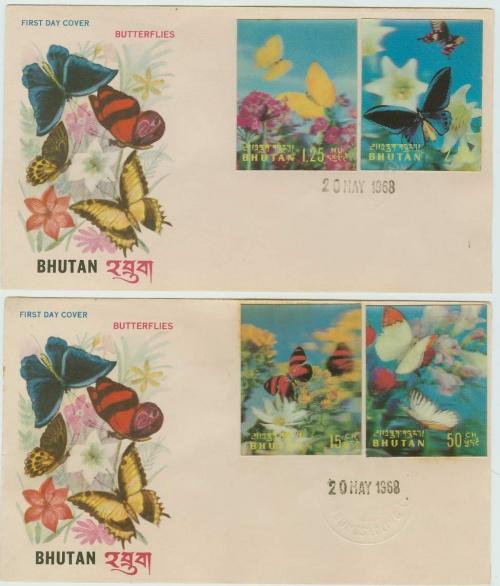 Бабочки, 1968 год.