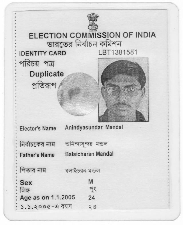 India Voter ID
