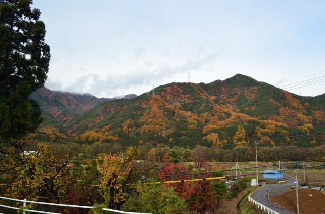 road from Matsumoto to Hirau-onsengo