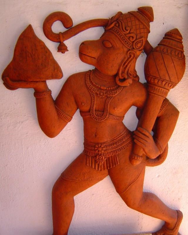 Terracotta Hanuman