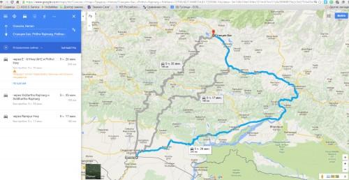 3 маршрута Соноли - Покхара