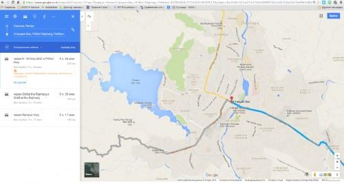 2 пути заезда в Покхару