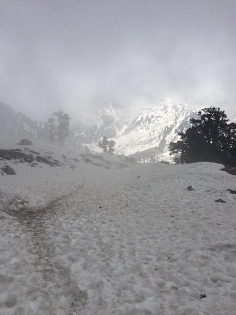 переход к Илаке (снеговой линии)