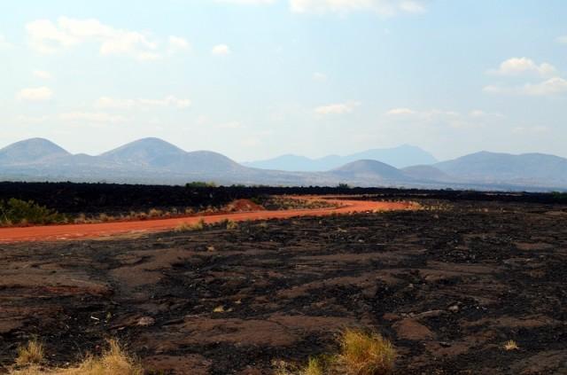 лавовые поля - большой Африканский разлом