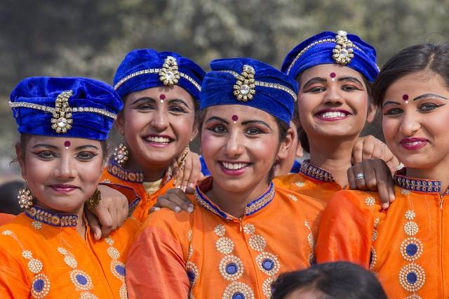 Подготовка к параду в Дели