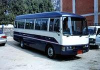Туристический автобус Катманду-Покхара