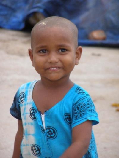 девочка-индия