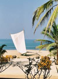 Негомбо. Отель The Beach.