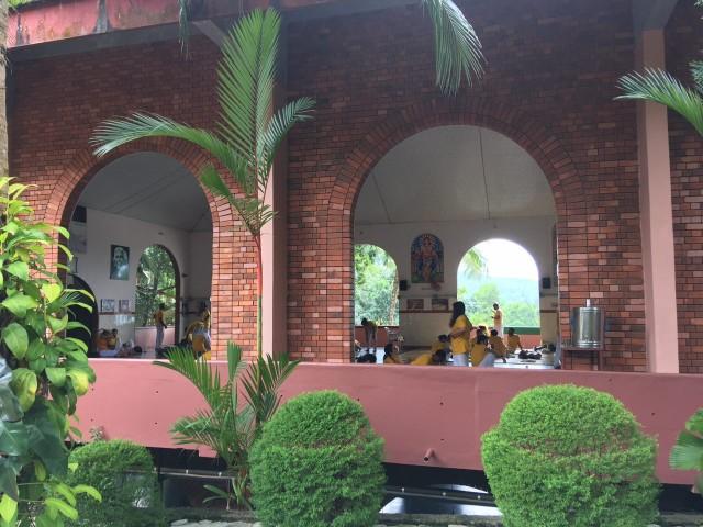 Ашрам около Тривандрама